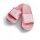 Queen Badelatsche rosa/weiße Druckfarbe 36