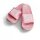 Queen Badelatsche rosa/weiße Druckfarbe 41